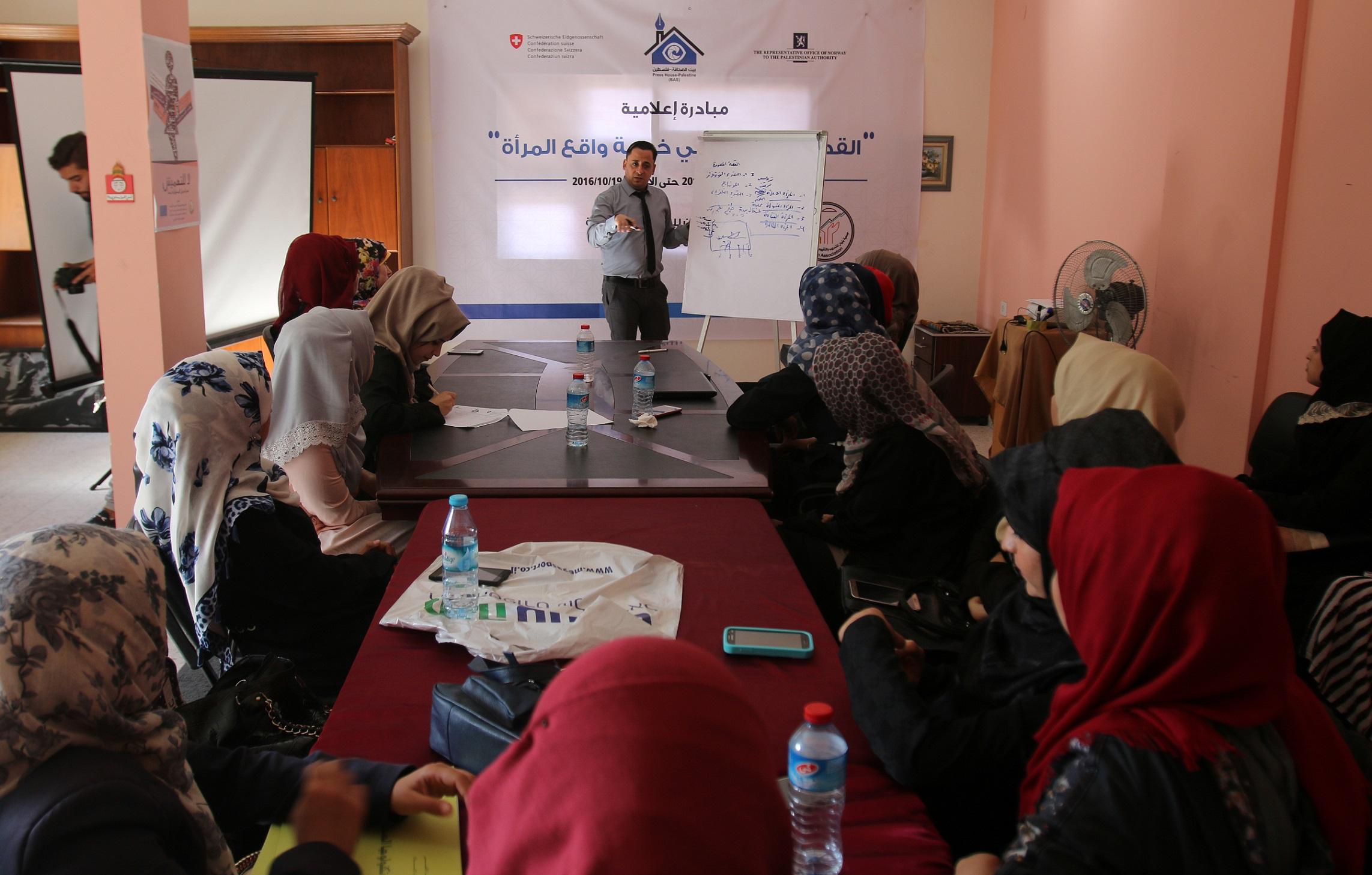 برعاية بيت الصحافة: جمعية بنيان للتنمية المجتمعية تختتم دورة تدريبية حول