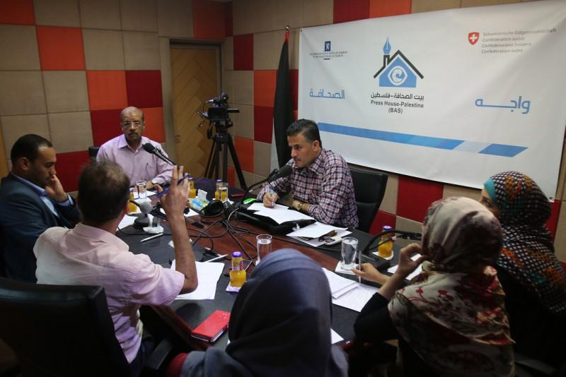 """بيت الصحافة تنظم لقاء """"واجه الصحافة"""" حول أزمة الكهرباء على الهواء مباشرة عبر إذاعة القدس المحلية"""