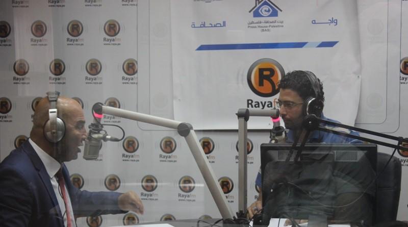 لأول مرة ..بيت الصحافة تنظم لقاءً حول واقع الحريات الاعلامية على الهواء مباشرة من الضفة الغربية