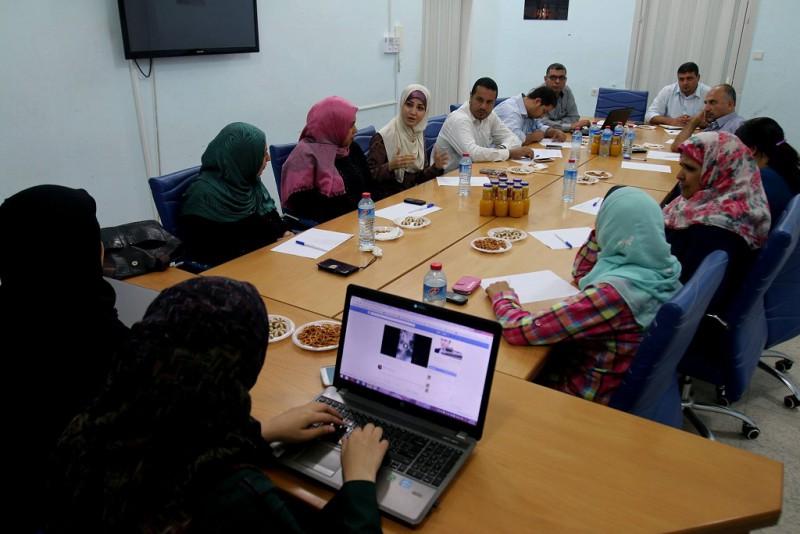 بيت الصحافة تعقد ورشة عمل تحضيرية لتنفيذ حملة مناهضة العنف ضد المرأة