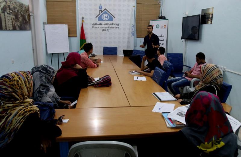 بيت الصحافة يستضيف ورشة عمل حول قضايا العنف ضد المرأة غزة