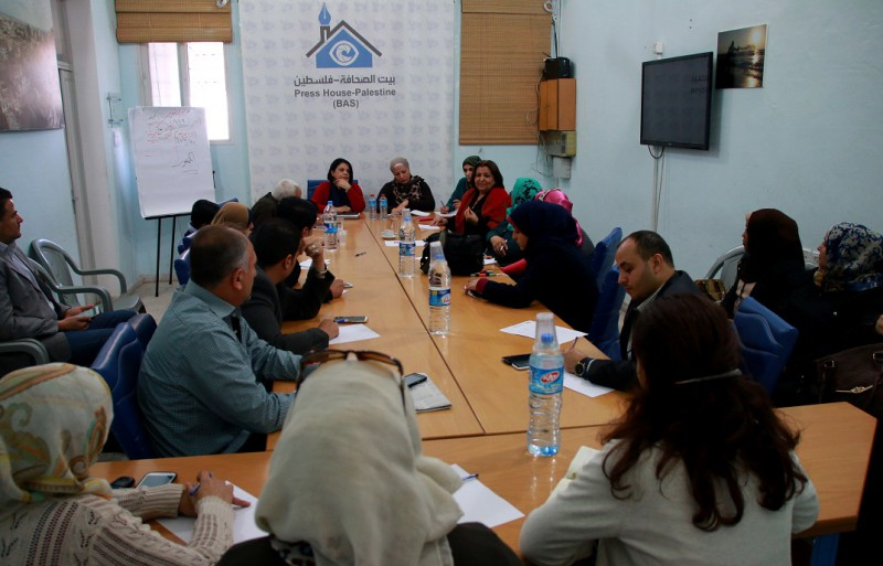 شبكة المنظمات وبيت الصحافة تعقدان ورشة عمل حول دور الاعلام في تفعيل قضايا المرأة