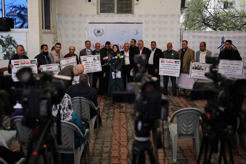 بيت الصحافة تستضيف مؤتمراً صحفيا حول اخر مستجدات ملف معتمري غزة