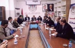 جلسة نقاش حول ميثاق شرف صحفي لتغطية الانتخابات الفلسطينية