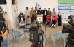 شبكة الأجسام تعقد مؤتمرا صحفياً ببيت الصحافة لمساندة ذوي الإعاقة