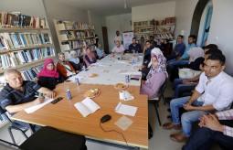 فريق بصمة تغيير الشبابي ينفذ مبادرة إنتاج فيلم قصير حول واقع التعليم في غزة