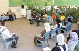 بيت الصحافة يستضيف ورشة عمل مع جمعية التأهيل والتدريب الاجتماعي