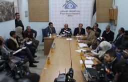 بيت الصحافة تنظم لقاءً صحفيا مع وزير الأشغال ومدير عام صندوق تطوير وإقراض البلديات