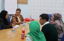 الصليب الأحمر يبحث سبل التعاون المشترك مع بيت الصحافة