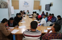 """فريق """"غزة الحرة"""" يختتم أسبوعاً إعلامياً بالتعاون مع مؤسسة بيت الصحافة"""