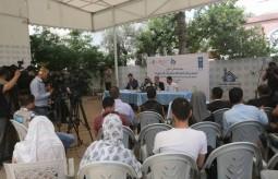 الممثل الخاص لمدير العام لبرنامج الأمم المتحدة الإنمائي يعقد مؤتمراً صحفيا هاما ببيت الصحافة