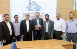 بيت الصحافة تستقبل وفد اللجنة الاعلامية لحماس