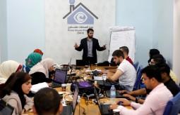 المركز الشبابي الاعلامي ينهي دورة تدريبية متقدمة في إدارة مواقع التواصل الاجتماعي في بيت الصحافة