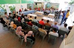 بيت الصحافة ينظم لقاء حواريا مع رئيس بلدية غزة د. يحيى السراج