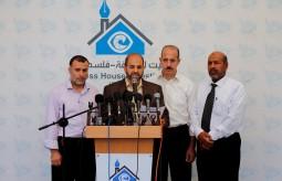 من بيت الصحافة.. اللجان الشعبية للاجئين تطالب الاونروا بإنارة المخيمات في غزة