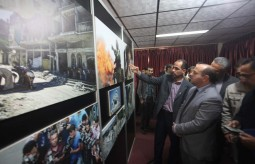 """بيت الصحافة تفتتح معرض الصور الفوتوغرافي الأول """"غزة 51"""""""