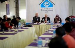 بيت الصحافة يعقد لقاء واجه صحافة مع وزير العمل أبو شهلا
