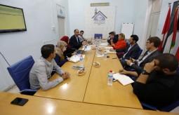 بيت الصحافة يعقد اجتماعه السنوي الاداري مع ممثلي سويسرا والنرويج