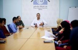 فريق الصحفيين الشباب ينظم لقاء تبادل خبرات اعلامية