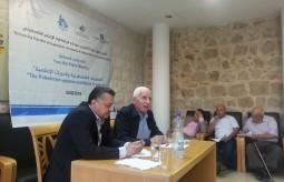لقاء واجه الصحافة مع عزام الأحمد