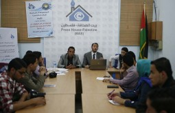 بيت الصحافة تستضيف ورشة عمل للمجموعة الشبابية الاعلامية ( أمالنا باحلامنا )