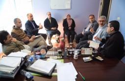 بيت الصحافة يشارك في اجتماع الأطر والمؤسسات الصحفية