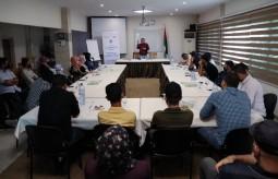 رشة توعية حول السلامة المهنية للصحفيين