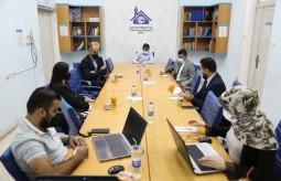 خلال الاجتماع الأول للفريق القانوني للدفاع عن الحريات الإعلامية