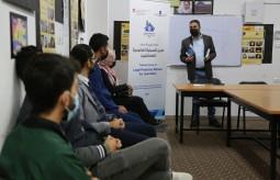 لقاءات تدريبية في رفح حول دليل الحماية القانونية للصحفيين