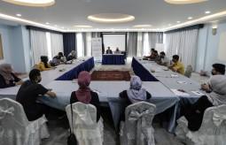 """جلسة نقاش حول """" واقع الحقوق والحريات الإعلامية في ظل تأجيل الانتخابات"""""""
