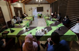 جلسة نقاش حول انتهاكات الحريات الإعلامية في فلسطين خلال الربع الأول من 2021