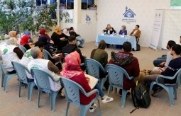 بيت الصحافة ينظم لقاءً حوارياً حول واقع المرأة الفلسطينية في غزة