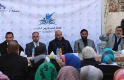 فريق الصحفيين الشباب ينظم لقاءا لممثلي الفصائل