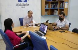 بيت الصحافة يعقد اجتماعه السنوي مع مموليه
