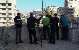 وحدة الحماية القانونية للصحفيين تستمر في عملها خلال العدوان على غزة
