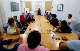 فريق الصحفيين الشباب ينظم لقاء إعلامي في بيت الصحافة