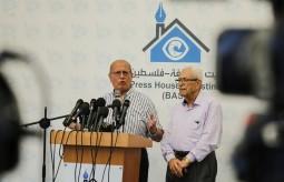 من بيت الصحافة.. الخضري يطرح مبادرة لإنهاء الانقسام ويحذر من تفاقم الأوضاع الانسانيةبغزة