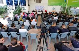 كلية العودة الجامعية بالتعاون مع بيت الصحافة ينظمان لقاءً حول واقع الحريات الاعلامية في غزة