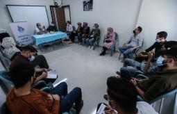 بيت الصحافة يعقد ورشة توعية بالتعاون مع جمعية الإغاثة الطبية الفلسطينية