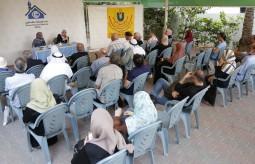 صالون نون يستضيف وزيرة المرأة السابقة والطفلة الموهوبة سكيك في غزة
