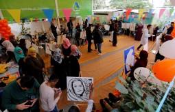 بيت الصحافة يستضيف مسابقة الرسم الحي ضمن أنشطة حملة 16 يوم لمناهضة العنف ضد المرأة