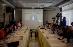 بيت الصحافة ينظم لقاء واجه الصحافة مع نائب رئيس حركة فتح محمود العالول