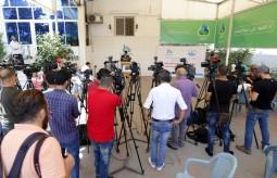 مصلحة مياه بلديات الساحل تعقد مؤتمر صحفياً ببيت الصحافة
