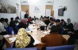 مكتب المفوض السامي بغزة يعقد جلسة نقاش بالتعاون مع بيت الصحافة
