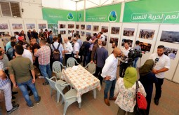 """معرض صور """"صحفيون على خط النار"""""""