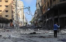 انتهاكات الحريات الإعلامية في قطاع غزة أثناء العدوان الإسرائيلي