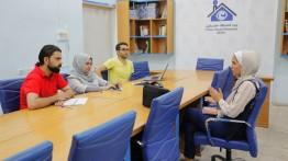 بيت الصحافة يعقد مقابلات شخصية للمتقدمين لبرنامج الصحفي الشامل