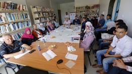 برعاية بيت الصحافة:فريق بصمة تغيير الشبابي ينفذ مبادرة إنتاج فيلم قصير حول واقع التعليم في غزة