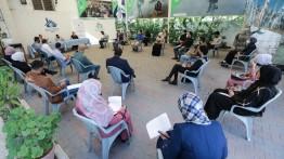 """الصالون الثقافي في بيت الصحافة يعقد ندوة بعنوان """" الرواية الفلسطينية وحقوق الإنسان """""""