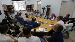 بيت الصحافة ومركز الإعلام بجامعة النجاح ينظمان لقاء مع د. صائب عريقات